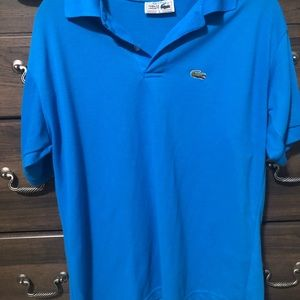 Lacoste Large Blue Polo